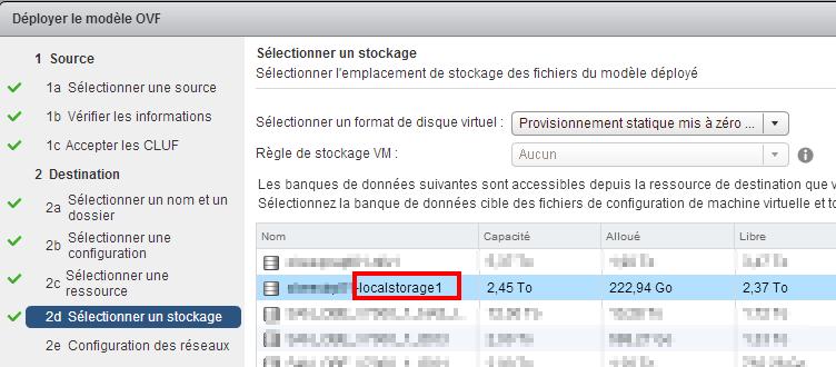 08. Select storage - FR