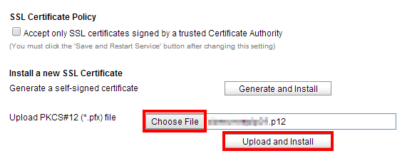 20.Upload Cert