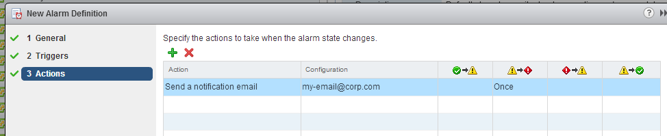 vSphere Replication – Create an alarm for RPO violations | KANAP NET